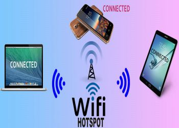 Turn Your Laptop Into Wi-Fi Hotspot In One Click Without Software