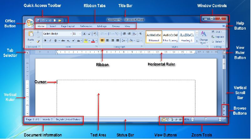 Introduction to MS-Word 2010