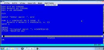 Programming in QBasic