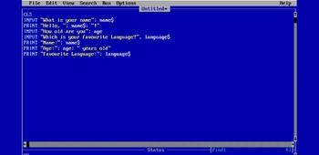 Programming in QBasic image